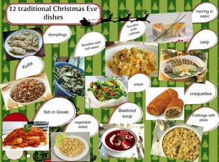 12 Christmas Dishes