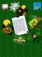RED EYED TREE FROG BY anela's thumbnail