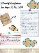 Teresa's Weekly Newsletter for April 12-16, 2010's thumbnail