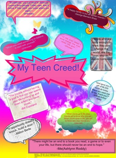Ashlynn's Teen Creed