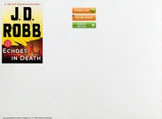 Download ebook Echoes in Death by J.D. Robb pdf epub mobi's thumbnail