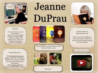 Jeanne DuPrau Author Study