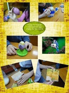Grade 1B painting eggs's thumbnail
