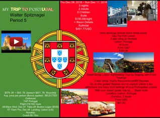 MY TRIP TO PORTUGAL