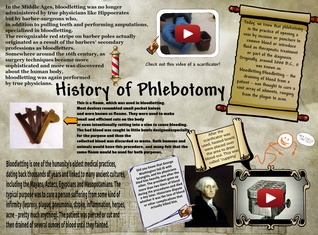 history of phlebotomy Phlebotomy technicians typically work in concert with clinical laboratory  personnel and other healthcare providers in hospitals or other healthcare  facilities.