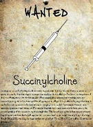 Wanted Succinylcholine's thumbnail