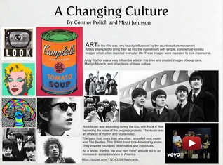 The Changing Culture of the 60s