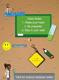 Science Class Rules