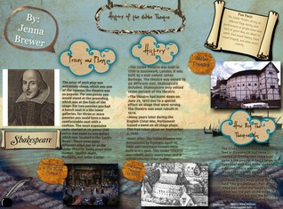 [2014] Jenna Brewer: History of the Globe Theatre