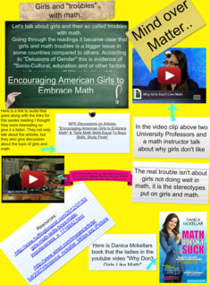 The Trouble with Girls and Math