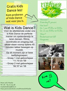 Flyer Kids Dance