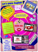 LET`S LEARN ENGLISH! ACTIVITY FOR CHILDREN' thumbnail