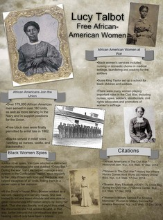 Lucy Talbot: Free African-American Women
