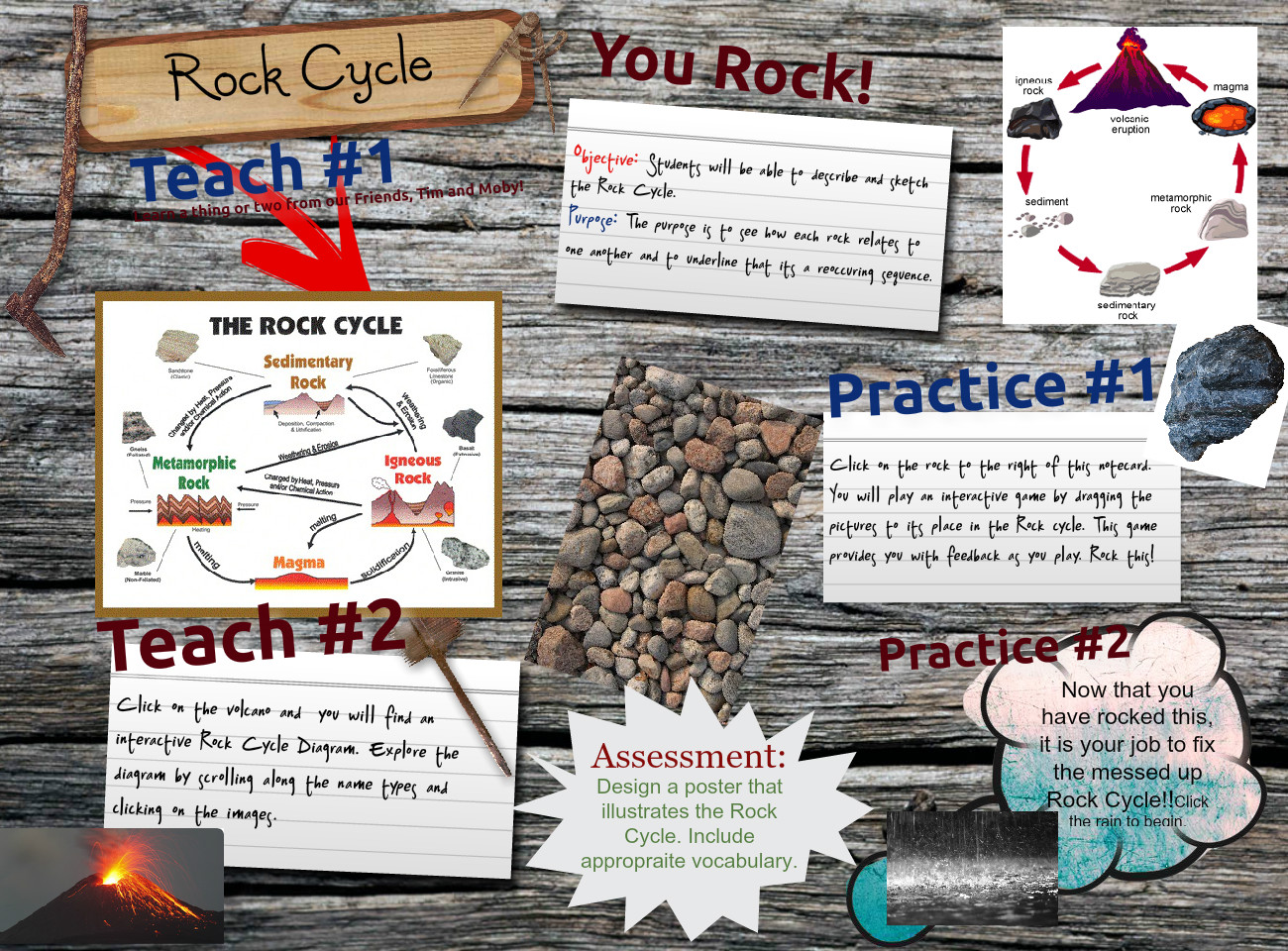 [2015] Mariah Monroe (Thursday 302 02): Rock Cycle