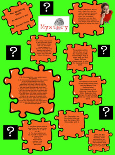 The Vanishing Violin Mystery Puzzle Piece Project