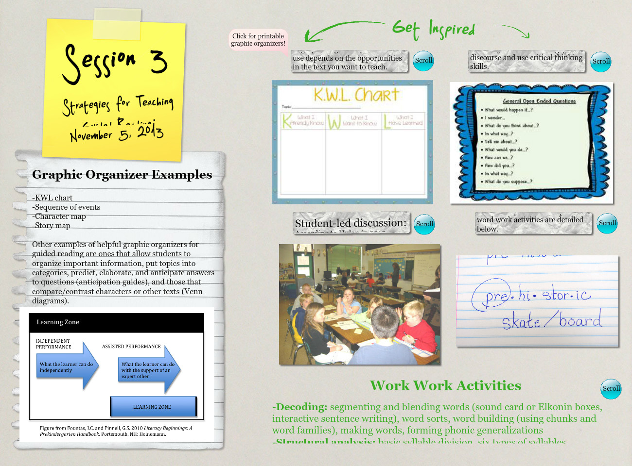Session 3: Strategies for Teaching Guided Reading
