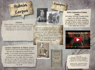 The Removal of Habeas Corpus