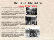 The United States and The Great Depression 's thumbnail