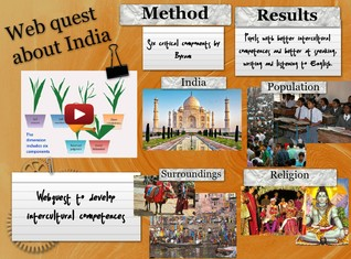 Web quest about India