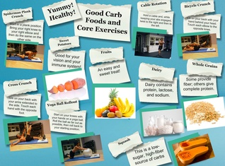Healthy food and Exercises