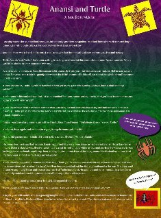 photo about Printable Anansi Stories named Anansi tale: anansi, anansi tale, folktale Glogster EDU