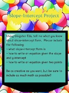 Slope-Intercept Project's thumbnail