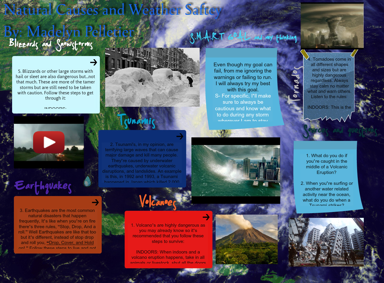 Natural Causes and Weather Safety