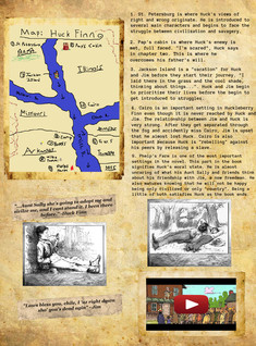 Huckleberry Finn Project