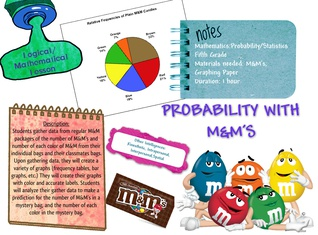 PROBABILITY WITH M&M'S