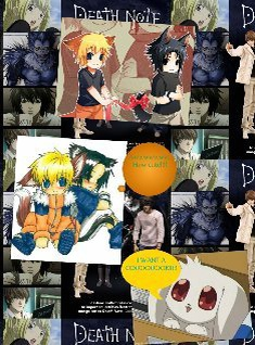 Death note with sasunaru