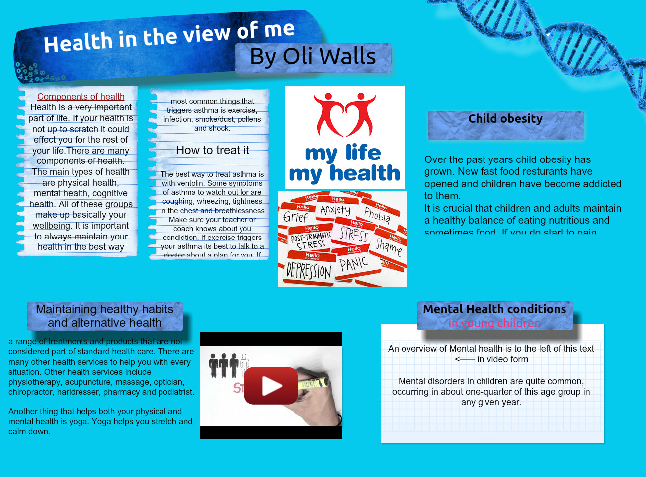Health in view of me