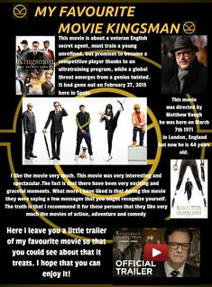 My Favourite Movie: Kingsman