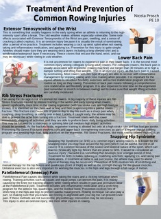 Treatment And Prevention of Common Rowing Injuries