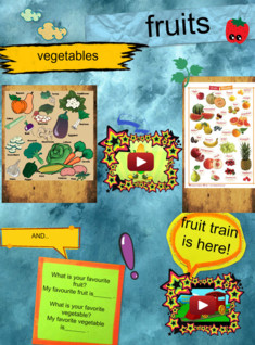 fruits and vegetables for 4th grade