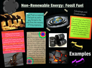 Non-Renewable Energy: Fossil Fuel