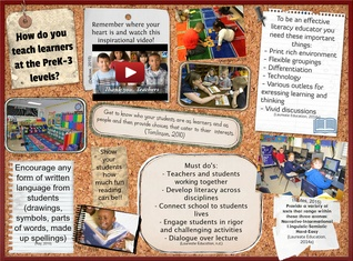 How do you teach learners at the PreK-3 levels?
