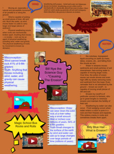 Harrell T. Science Poster -Weathering and Erosion