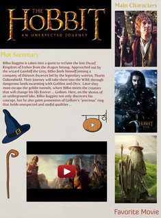 FAVORITE MOVIE - The Hobbit: An Unexpected Journey