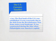 The U.S. Currency Timeline's thumbnail