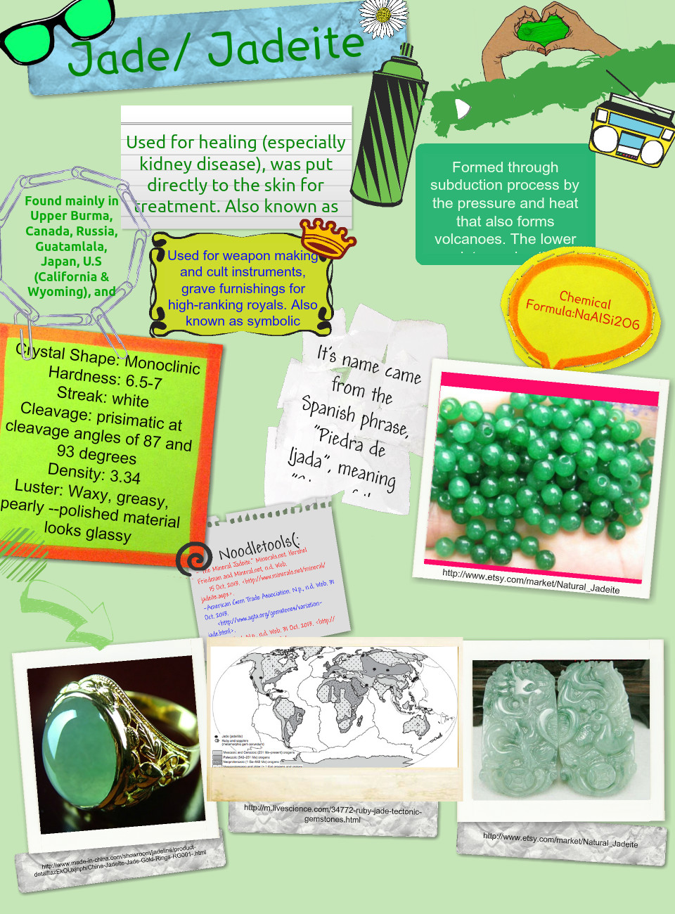 Jade Gemstone