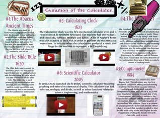 Evolution of the Calculator