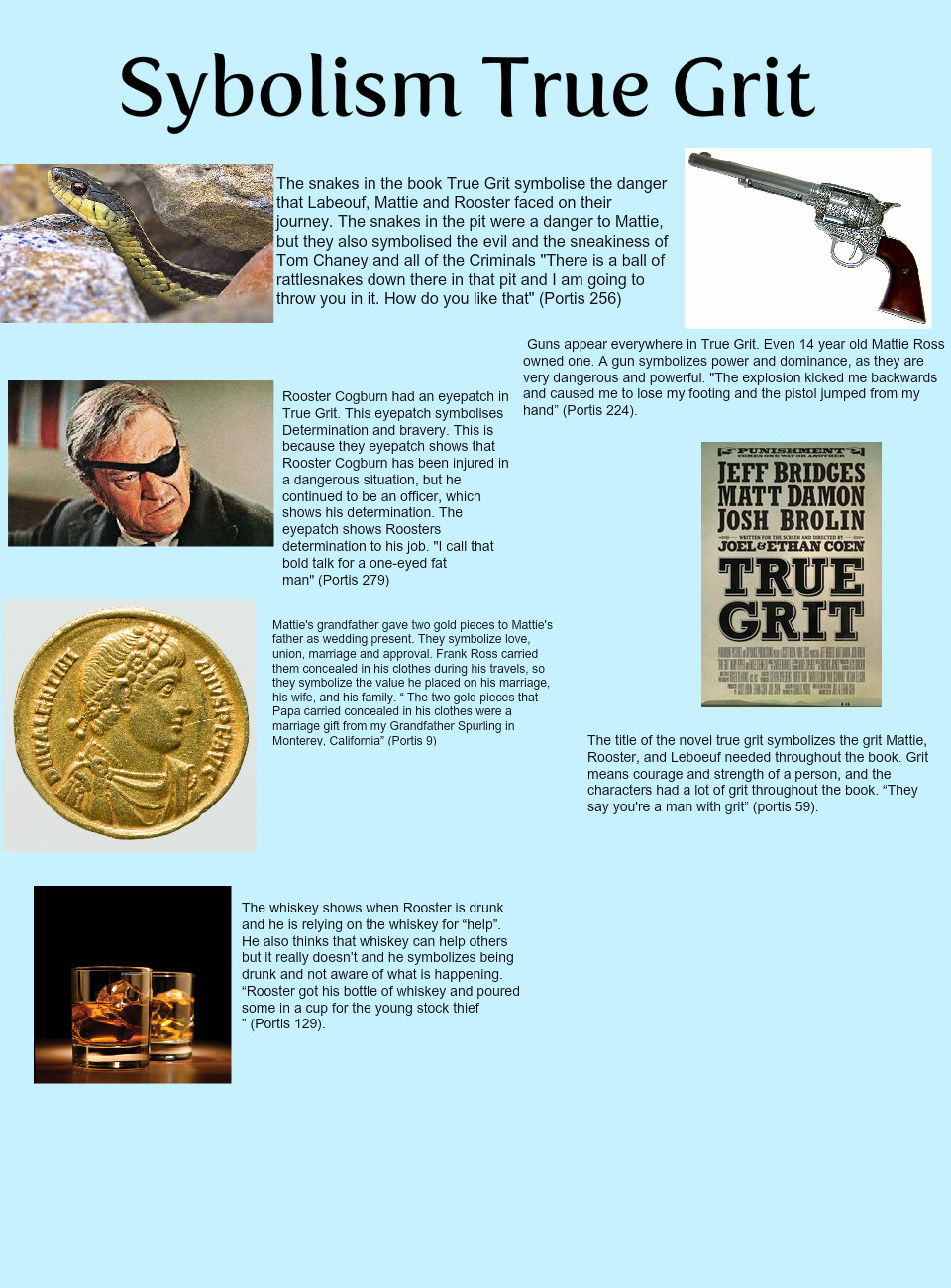 True grit symbolism text images music video glogster edu true grit symbolism biocorpaavc