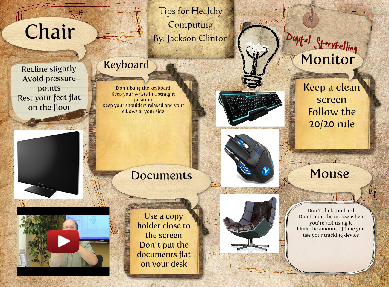 Tips for healthy computing