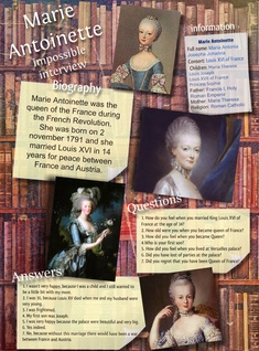 Marie Antoinette impossible interview