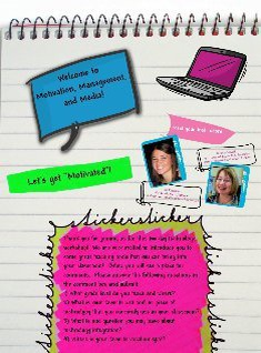 Motivation, Management, and Media Welcome Page