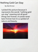 Nothing Gold Can Stay's thumbnail