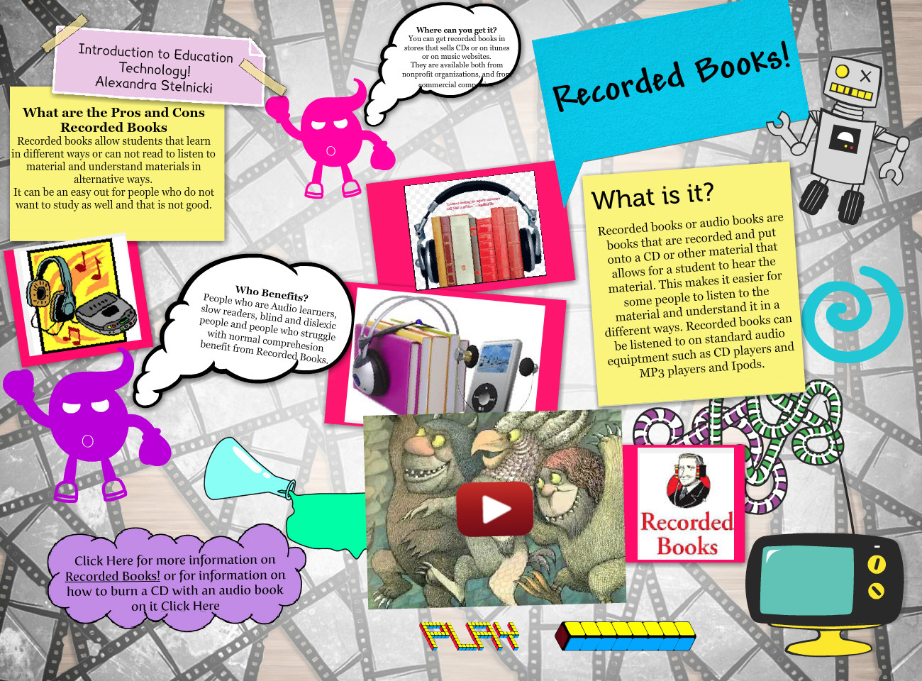 Recoreded Books- Introduction to Education Technology