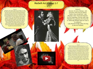 Macbeth - Act 1, Scenes 5 - 7