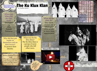 [2015] Matthew Barbee (7th LA  Core 1): The Ku Klux Klan