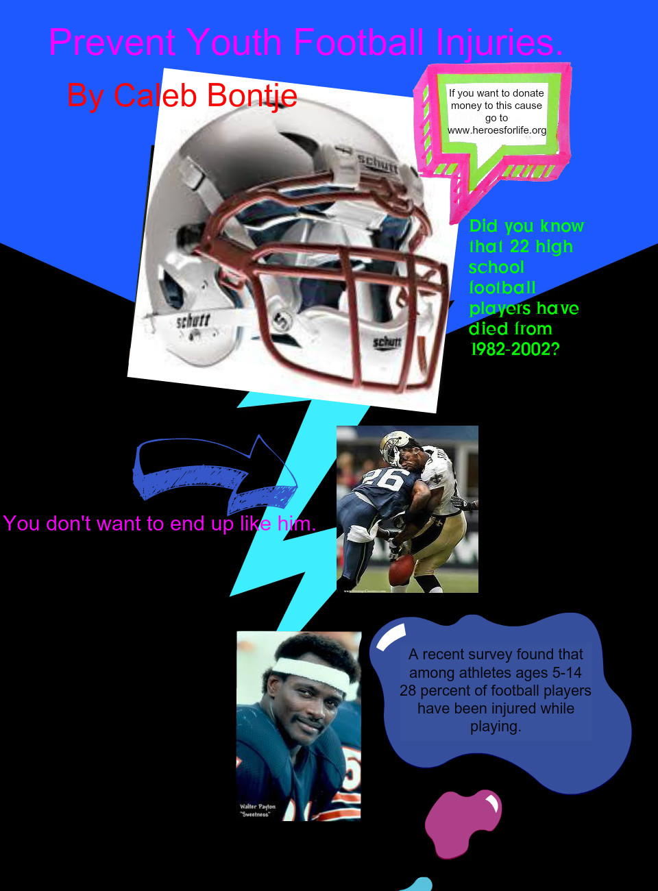 Caleb- prevent youth football injuries